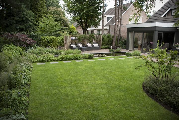 Moderne Bosaangrenzende Tuin Dutch Quality Gardens 6