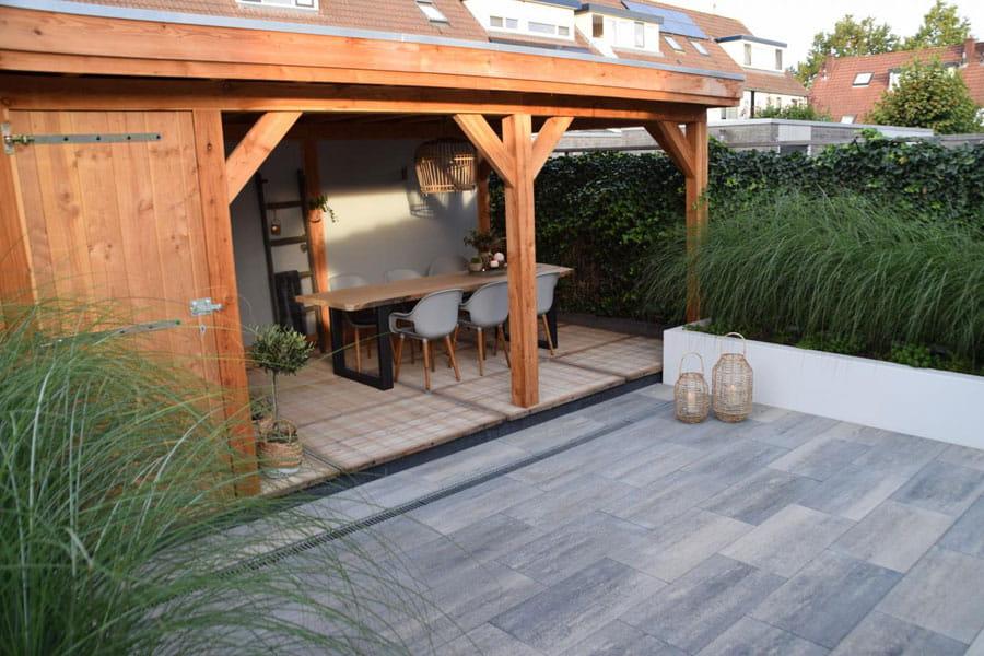 Moderne Achtertuin Met Stoere Uitstraling Dutch Quality Gardens 1