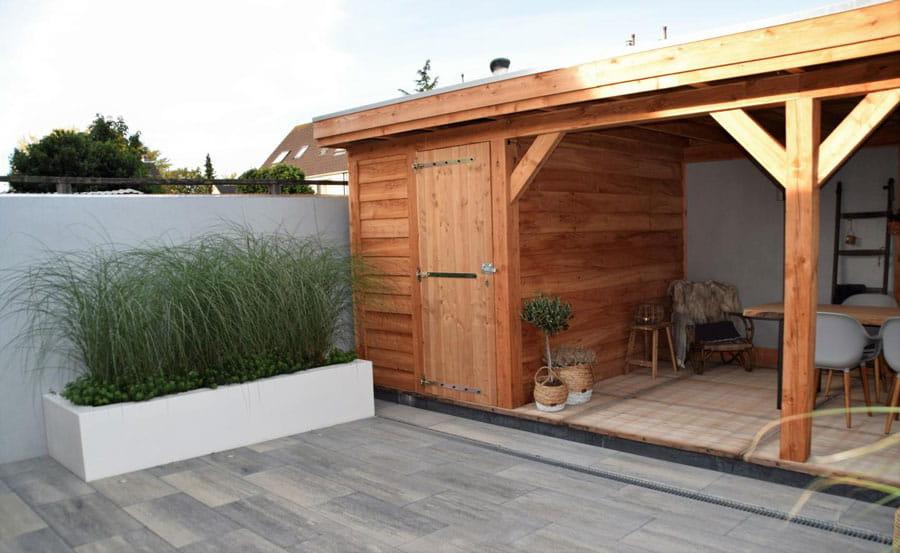 Moderne Achtertuin Met Stoere Uitstraling Dutch Quality Gardens 4