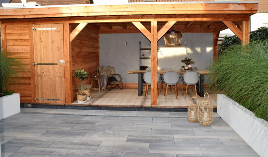 Moderne Achtertuin Met Stoere Uitstraling Dutch Quality Gardens 5