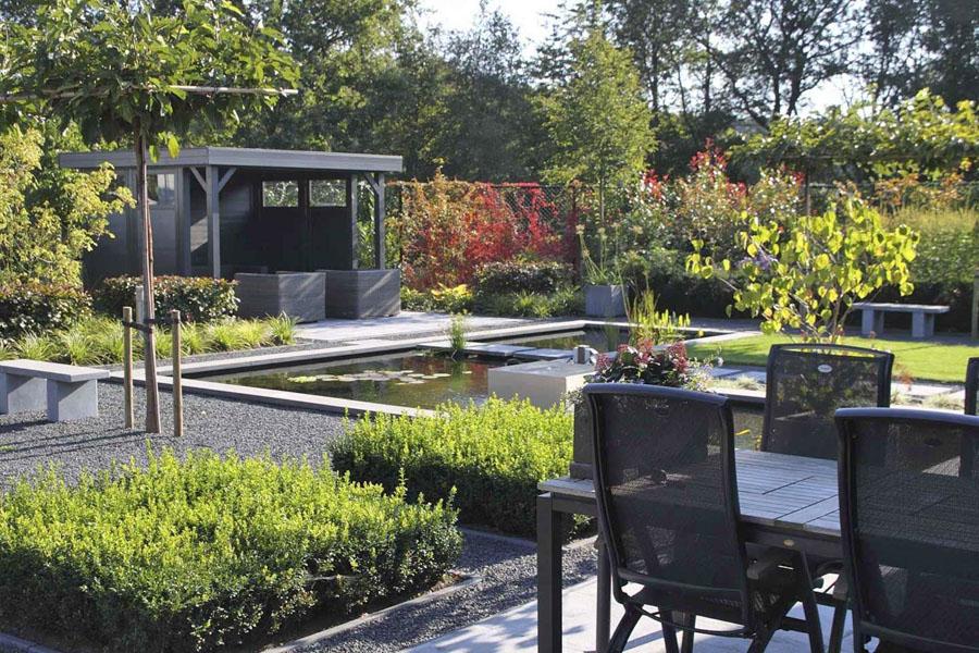 Moderne Tuin Halsteren Dutch Quality Gardens 1