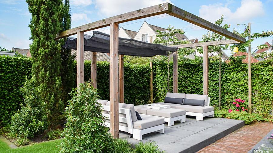 Dutch Quality Gardens Mocking Hoveniers Tuin Met Loungeterras 1