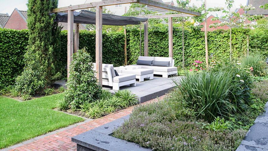 Dutch Quality Gardens Mocking Hoveniers Tuin Met Loungeterras 3