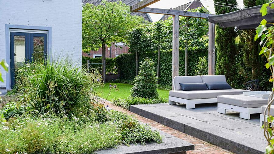 Dutch Quality Gardens Mocking Hoveniers Tuin Met Loungeterras 4