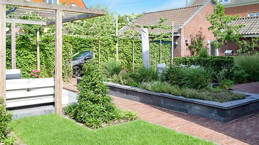 Dutch Quality Gardens Mocking Hoveniers Tuin Met Loungeterras 5