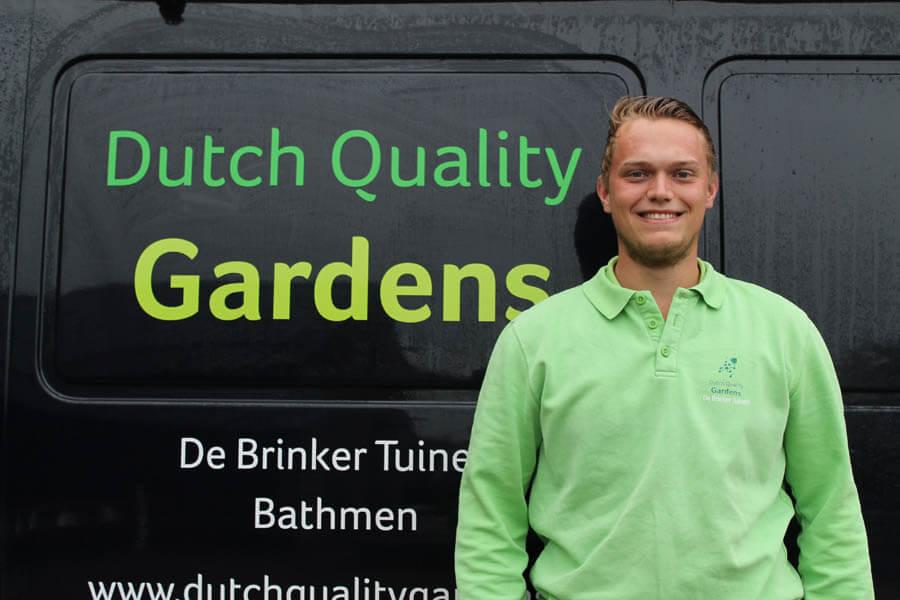 De Brinker Tuinen Medewerkers Kevin Ten Zijthof