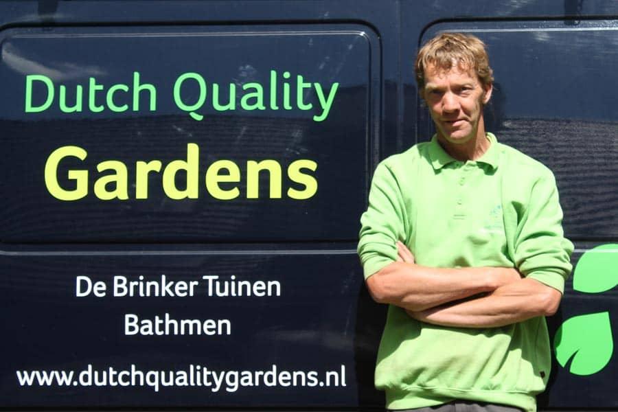 De Brinker Tuinen Medewerkers Marcel Hondeveld
