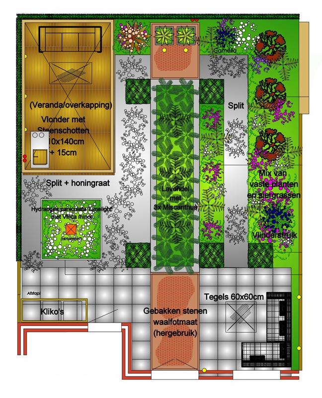 Ontwerp Modernie Tuin Met Bloembak Mocking Hoveniers
