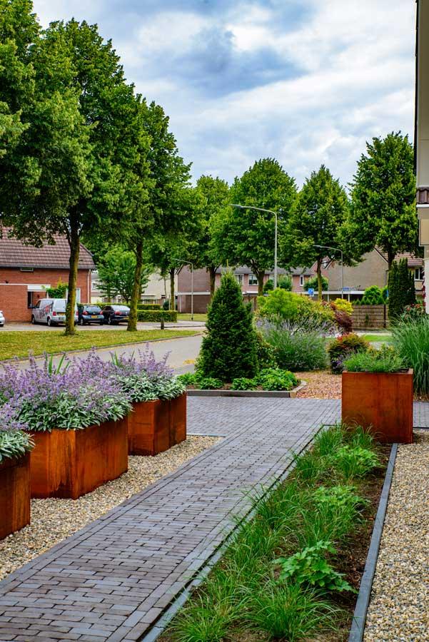 Klassieke Tuin Met Cortenstaal Eshuis Hoveniers 11
