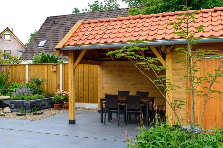 Klassieke Tuin Met Cortenstaal Eshuis Hoveniers 5