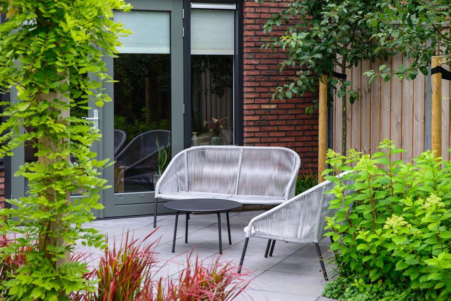 Moderne Tuin In Diagonalen Dutch Quality Gardens Eshuis Hoveniers 1