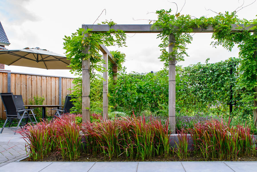 Moderne Tuin In Diagonalen Dutch Quality Gardens Eshuis Hoveniers 15