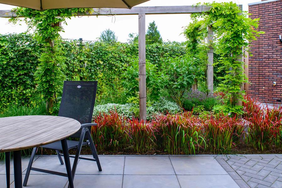 Moderne Tuin In Diagonalen Dutch Quality Gardens Eshuis Hoveniers 17