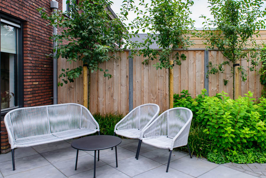 Moderne Tuin In Diagonalen Dutch Quality Gardens Eshuis Hoveniers 20