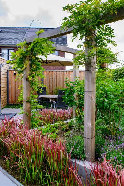 Moderne Tuin In Diagonalen Dutch Quality Gardens Eshuis Hoveniers 6