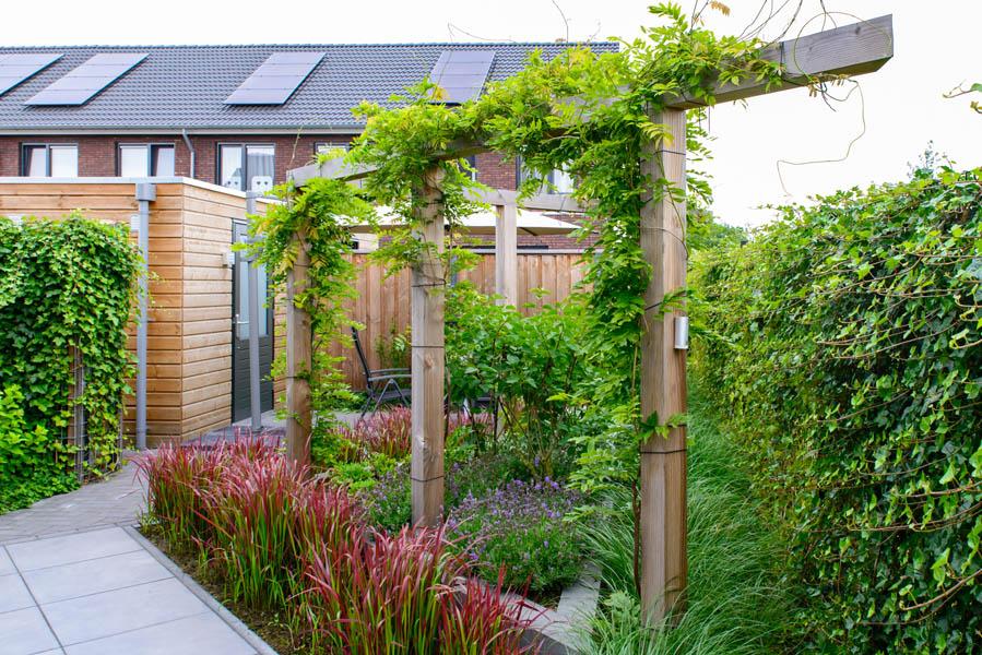 Moderne Tuin In Diagonalen Dutch Quality Gardens Eshuis Hoveniers 8