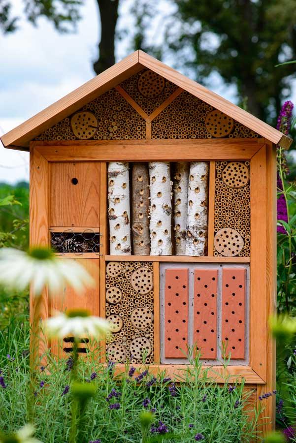 Natuurlijke Tuin Met Insectenhotel Eshuis Hoveniers 3