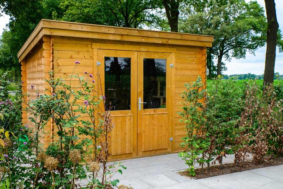 Natuurlijke Tuin Met Insectenhotel Eshuis Hoveniers 8