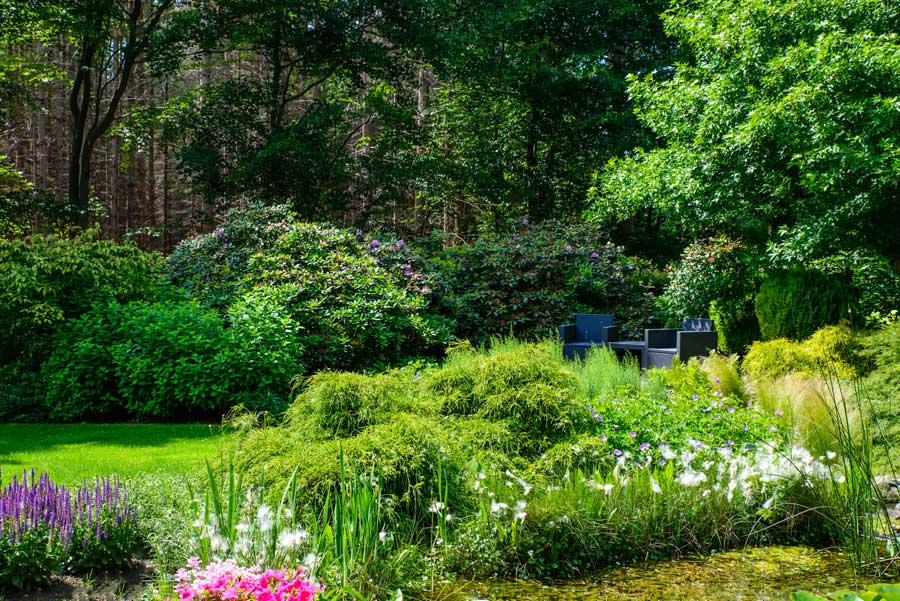Tuinvoorbeeld Groene Tuin Met Houten Overkapping De Brinker Tuinen 6