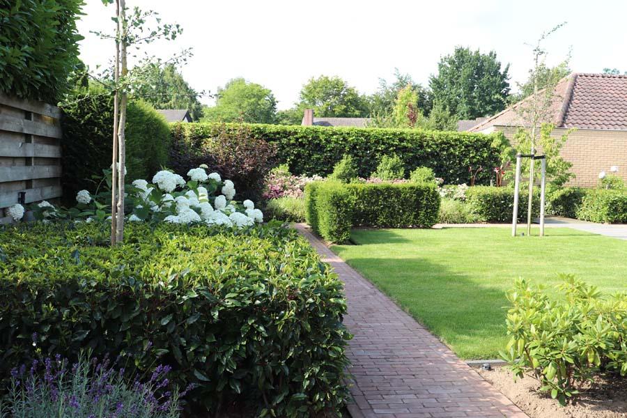 formele tuin met gevarieerde beplanting (5)