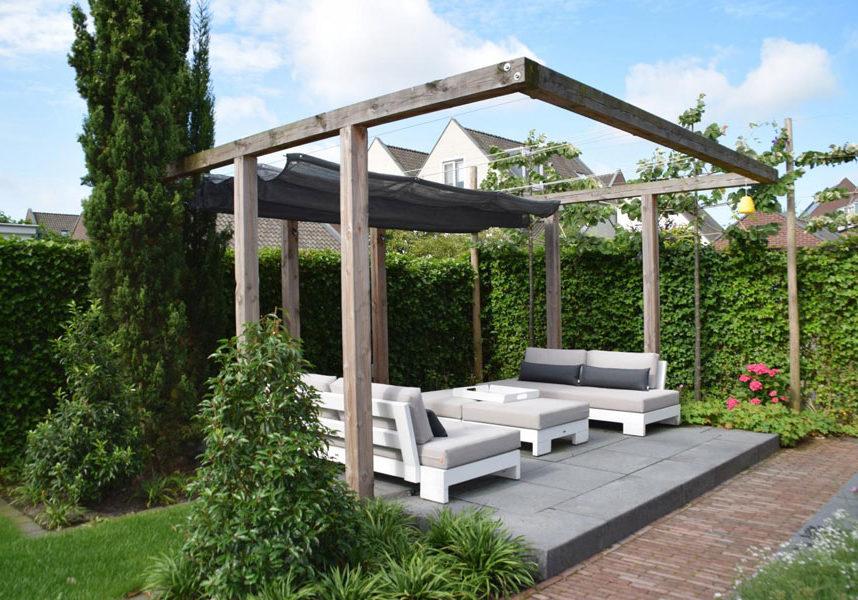 Tuin Met Loungeterras Dutch Quality Gardens 1